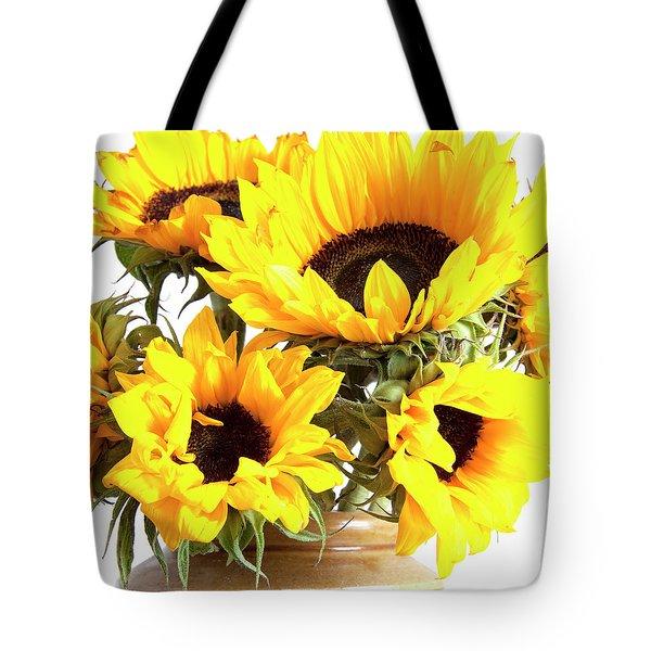 Sunshine Sunflowers Tote Bag