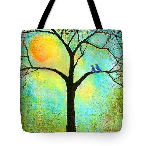 Sunshine Tree Tote Bag