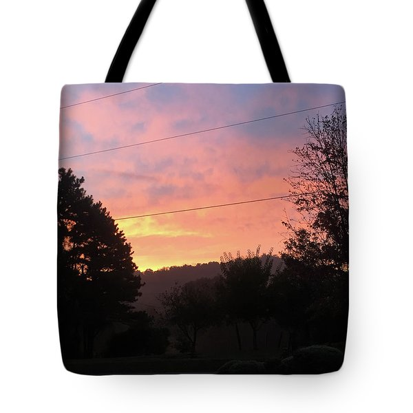 Sunshine Without The Fog Tote Bag