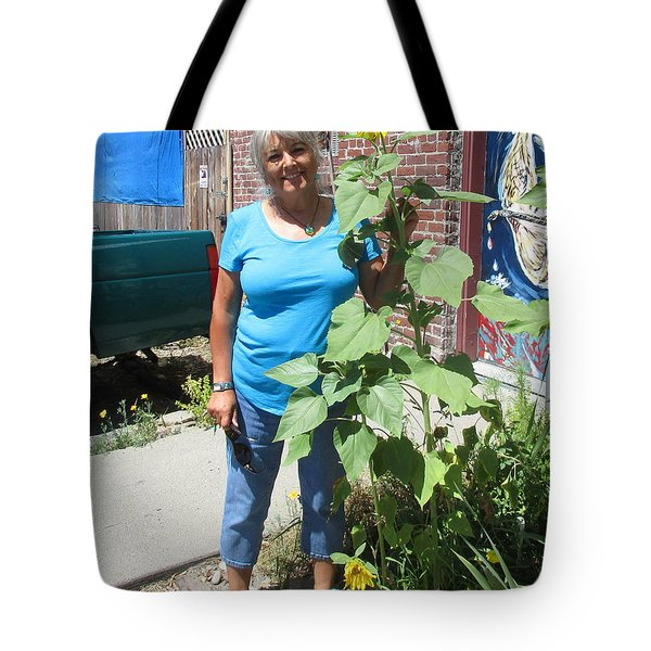Sunshiny Hello From Marie Tote Bag