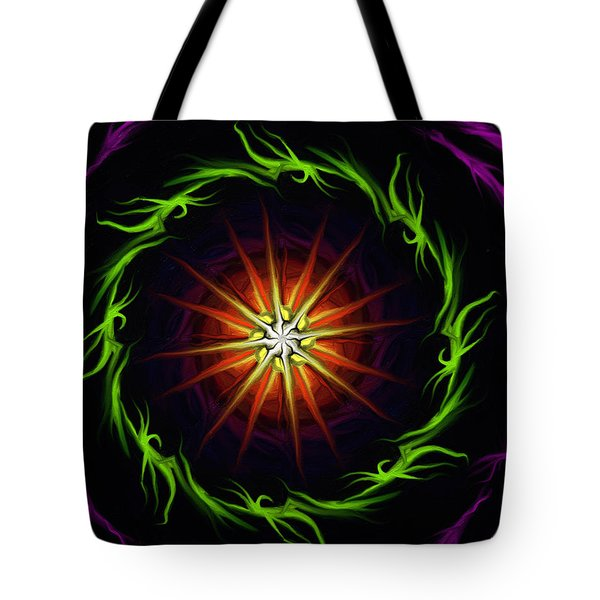 Sunstar Tote Bag by Jennifer Galbraith