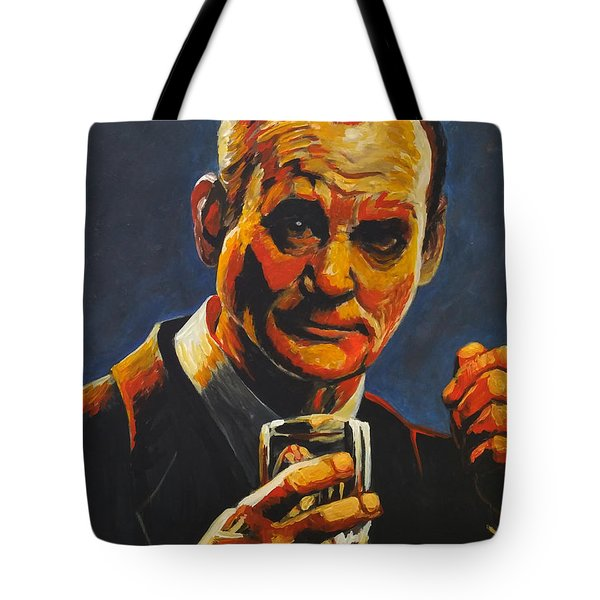 Tote Bag featuring the painting Suntory Time by Jennifer Hotai