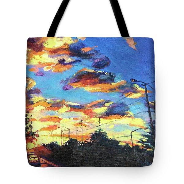 Sunward Tote Bag by Bonnie Lambert