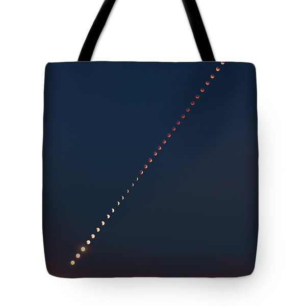 Super Blood Lunar Eclipse Tote Bag
