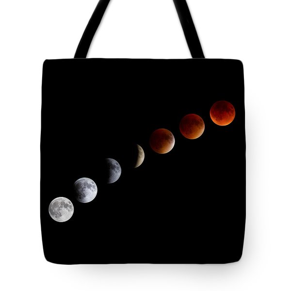 Super Blood Moon Eclipse Tote Bag