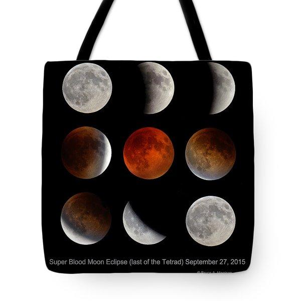 Super Blood Moon Eclipse Tote Bag