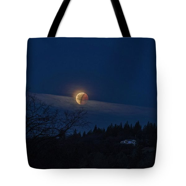 Super Blood Moon Tote Bag