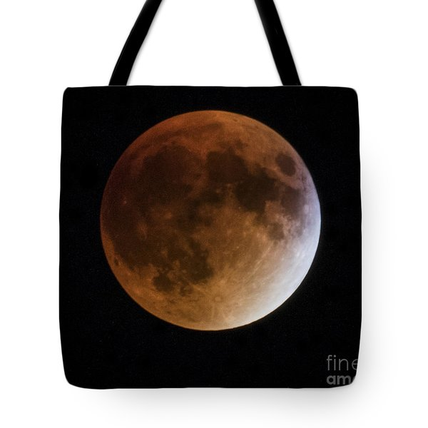 Super Blood Moon Lunar Eclipses Tote Bag