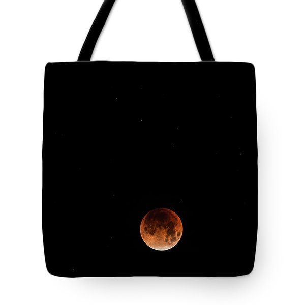 Super Blue Blood Moon January 31, 2018 Tote Bag