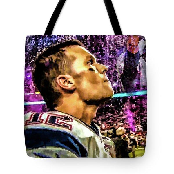 Super Bowl 53 - Tom Brady Tote Bag
