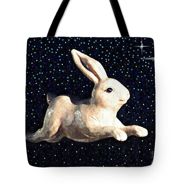 Super Bunny Tote Bag by Sarah Loft