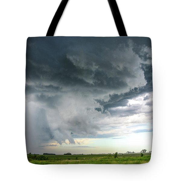 Super Cell Over Otter Tail County Tote Bag