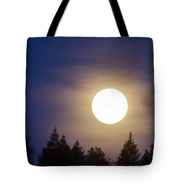 Super Full Moon Tote Bag