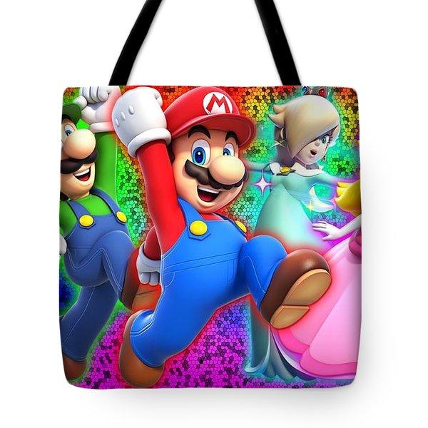 Super Mario 3d World Tote Bag