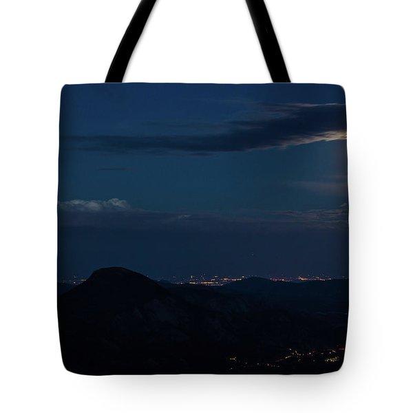 Super Moon Eclipse Tote Bag