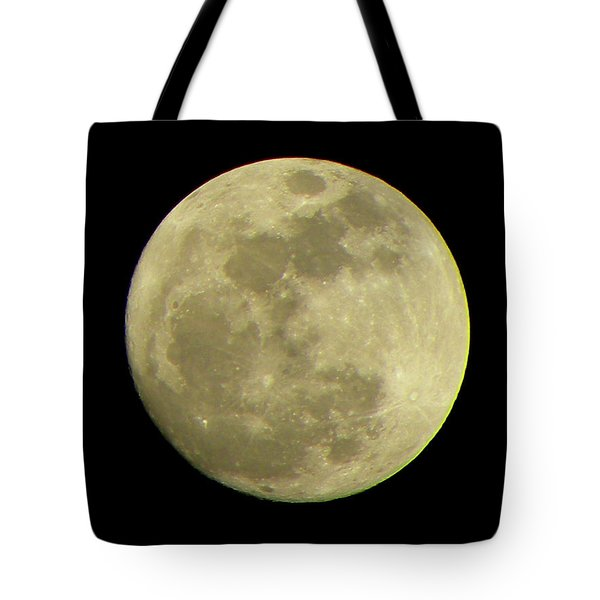 Super Moon March 19 2011 Tote Bag by Sandi OReilly