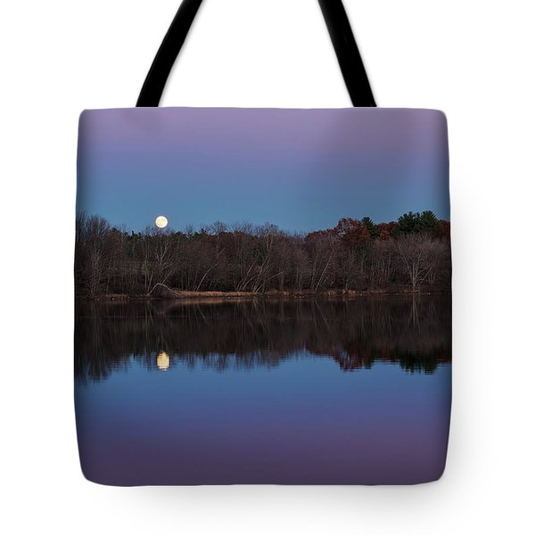 Tote Bag featuring the photograph Super Moon by Sharon Seaward