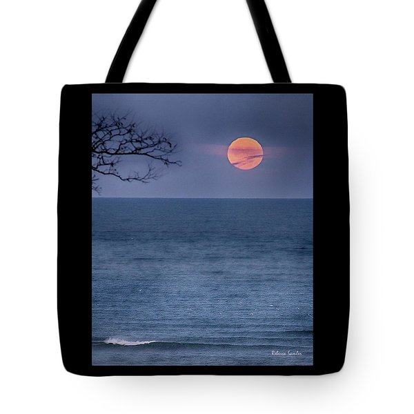 Super Moon Waning Tote Bag