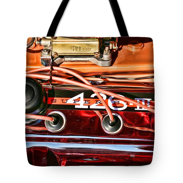 Super Stock Ss 426 IIi Hemi Motor Tote Bag
