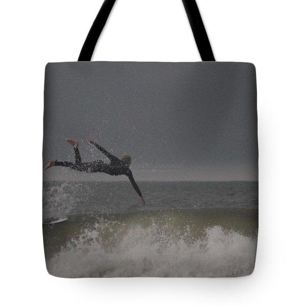 Super Surfing Tote Bag by Robert Banach