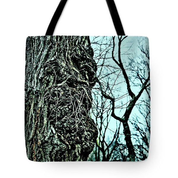 Tote Bag featuring the photograph Super Tree by Sandy Moulder