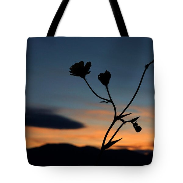 Superbloom Sunset In Death Valley 105 Tote Bag