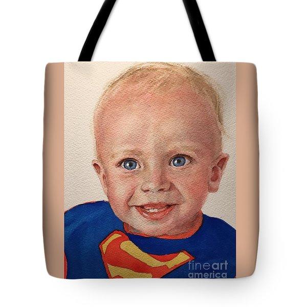 Superboy Tote Bag