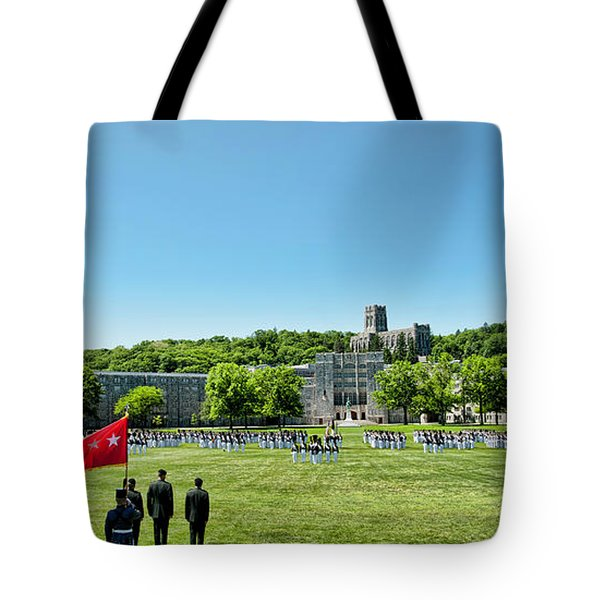Superintendent's Review Wide Angle Tote Bag