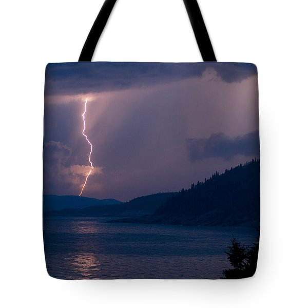 Superior Lightning     Tote Bag