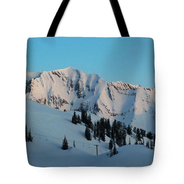 Superior Sunrise Tote Bag