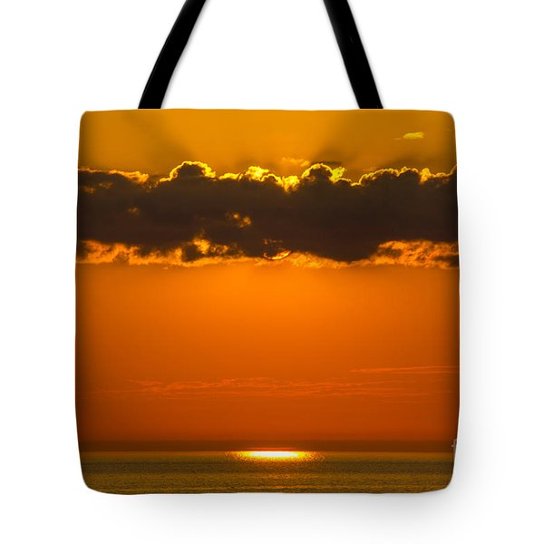 Superior Sunset Tote Bag