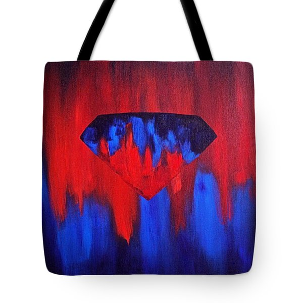 Superman Tote Bag by Herschel Fall