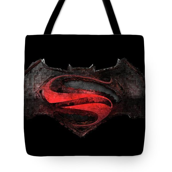 Superman Vs Batman Tote Bag