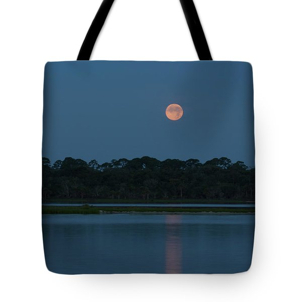 Supermoon Dawn 2013 #2 Tote Bag