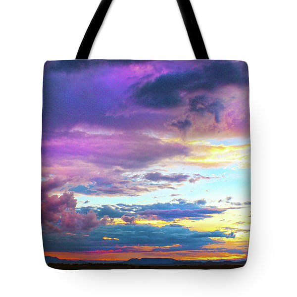 Supernatural Sky - Colorado Tote Bag