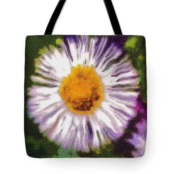Supernove Daisy Tote Bag by Spyder Webb