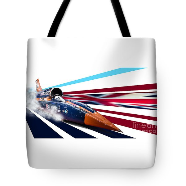 Supersonic Brit Tote Bag