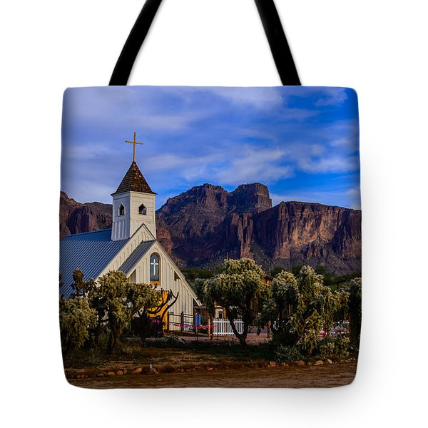 Superstition Church Tote Bag