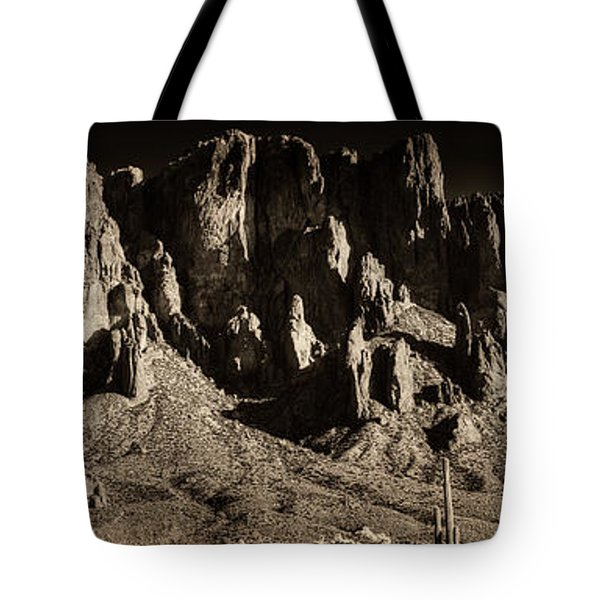 Superstition Mountain  Tote Bag