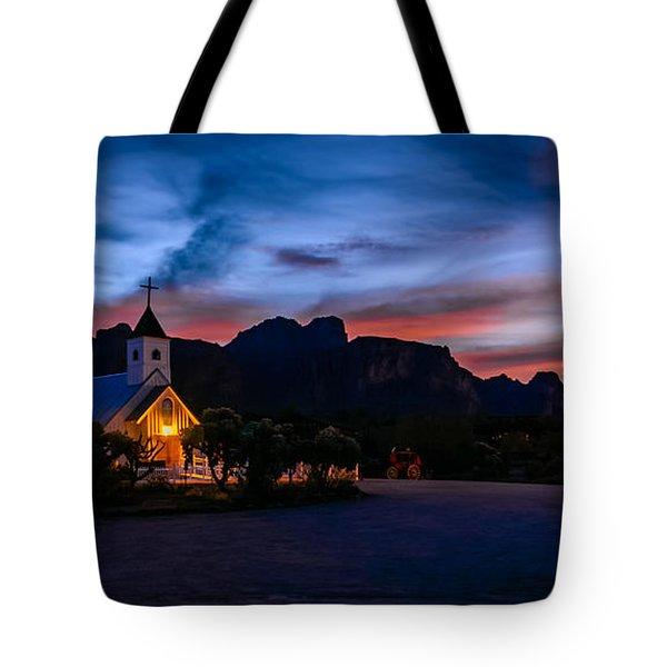 Superstition Sunrise Tote Bag