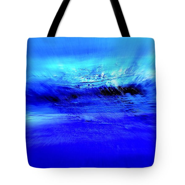Superstorm At Sea Tote Bag
