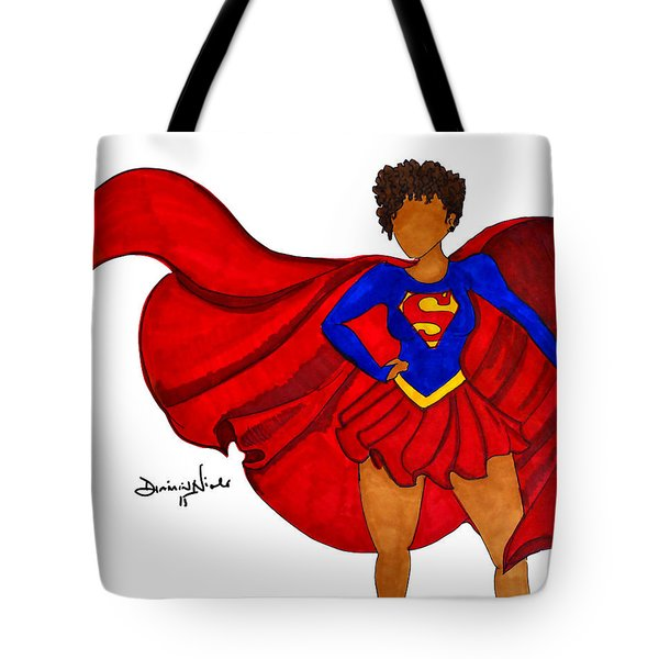 Superwoman I Am  Tote Bag by Diamin Nicole