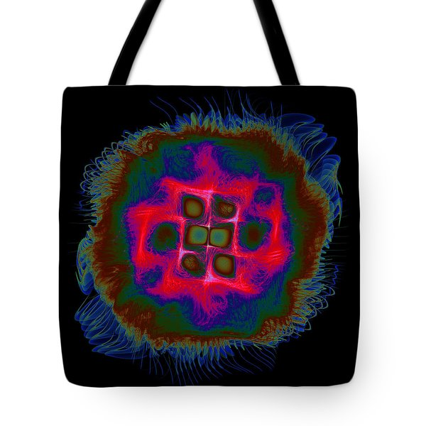 Tote Bag featuring the digital art Suppenting by Andrew Kotlinski