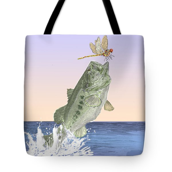 Supper Time Tote Bag by Barry Jones
