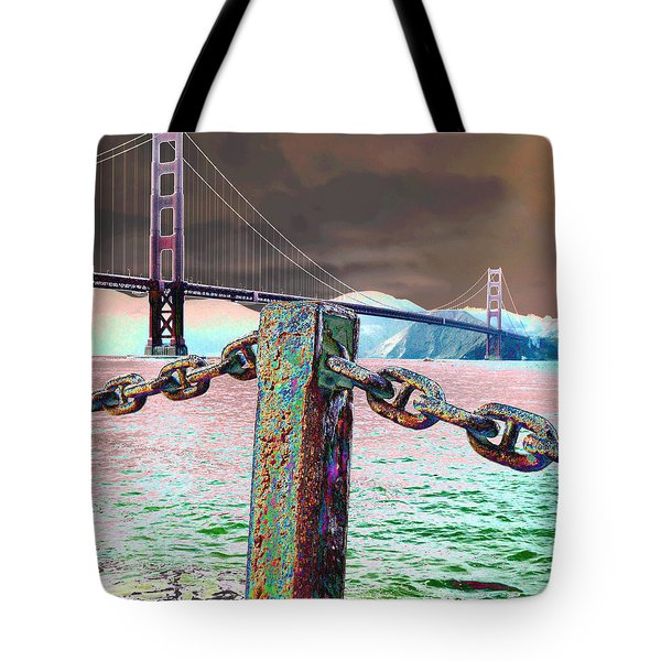 Supporting Post Tote Bag