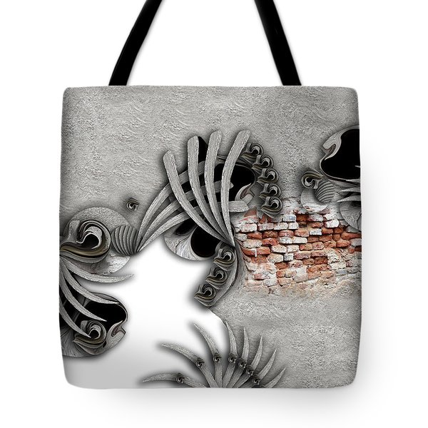 Supposed Emotion Tote Bag