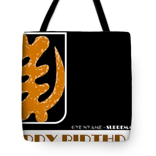 Supremacy Of God Tote Bag