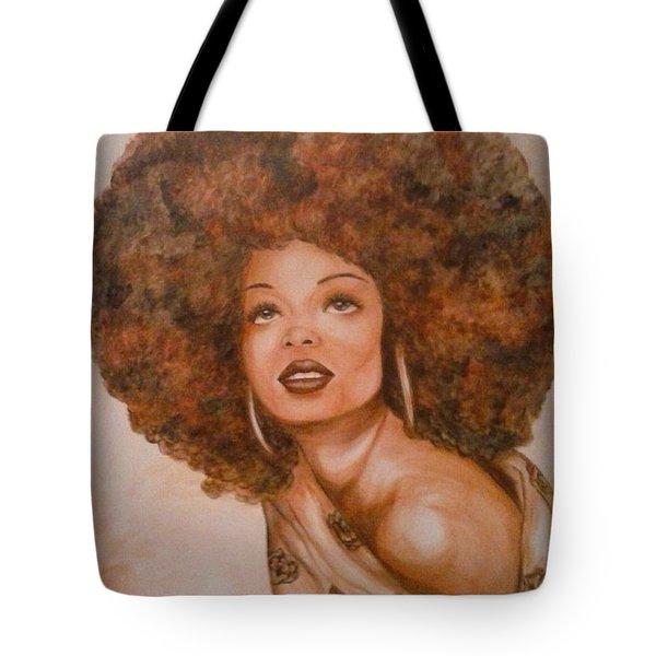 Miss Diana  Tote Bag