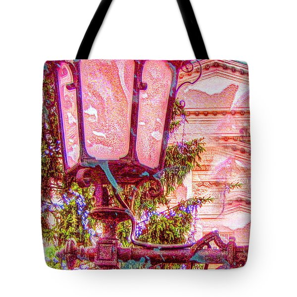 Tote Bag featuring the mixed media Sur Light by Yury Bashkin
