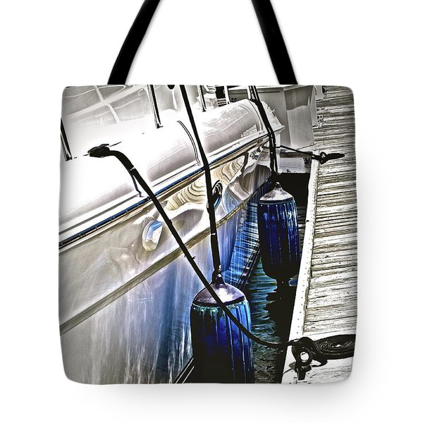 Sure-thing Boat Tote Bag by Gwyn Newcombe